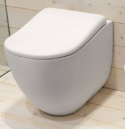 Back to wall sanitary ware WC Bidet Cielo Fluid