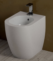 Back to wall sanitary WC Bidet softclose seat Cielo Smile TERRE DI CIELO POMICE finish