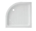 Shower tray Cielo h10 angular 75x75 in ceramic