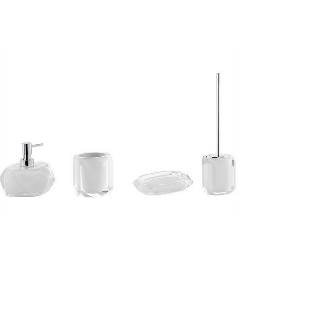 White Bathroom Accessories Gedy Chanelle