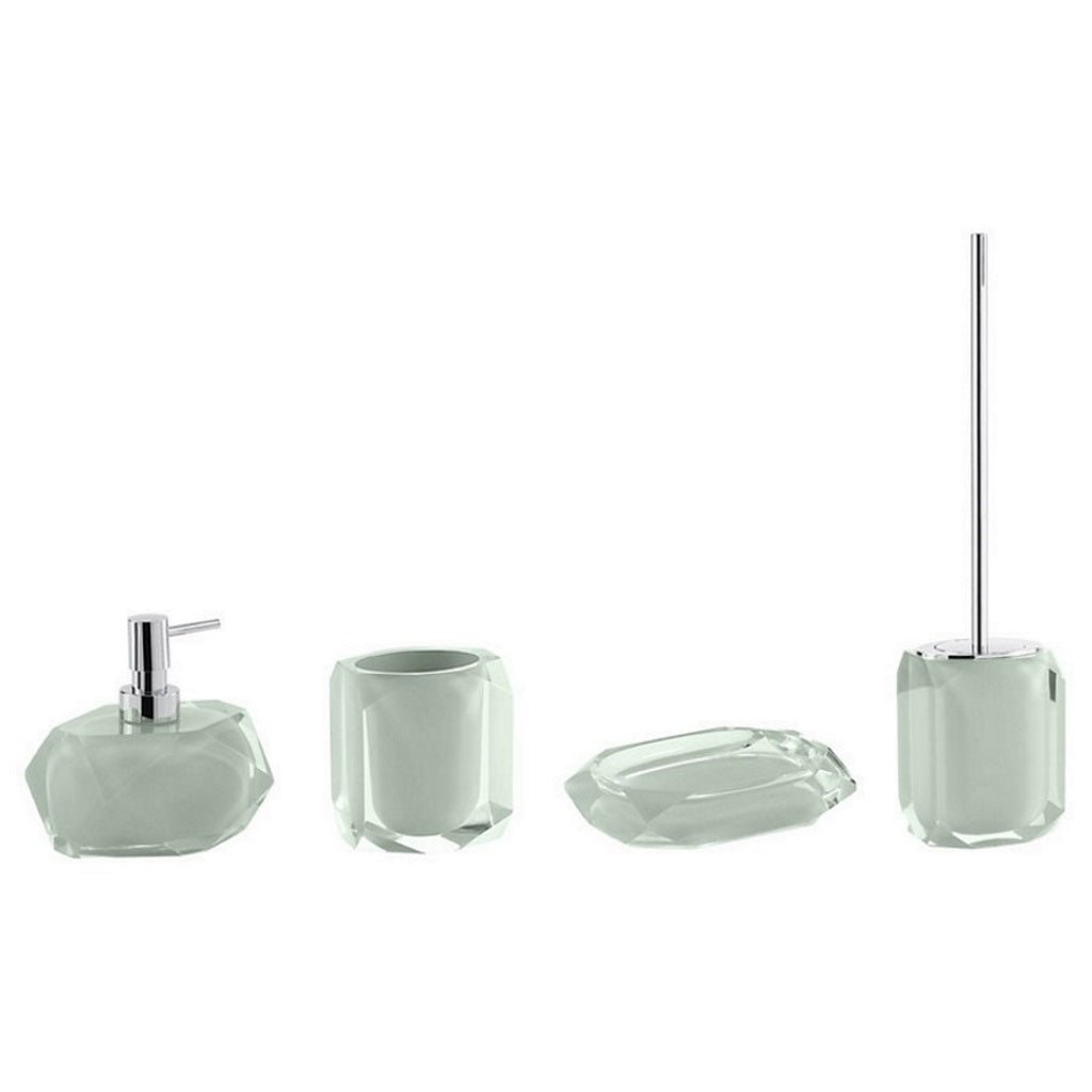 Green Bathroom Accessories Gedy Chanelle