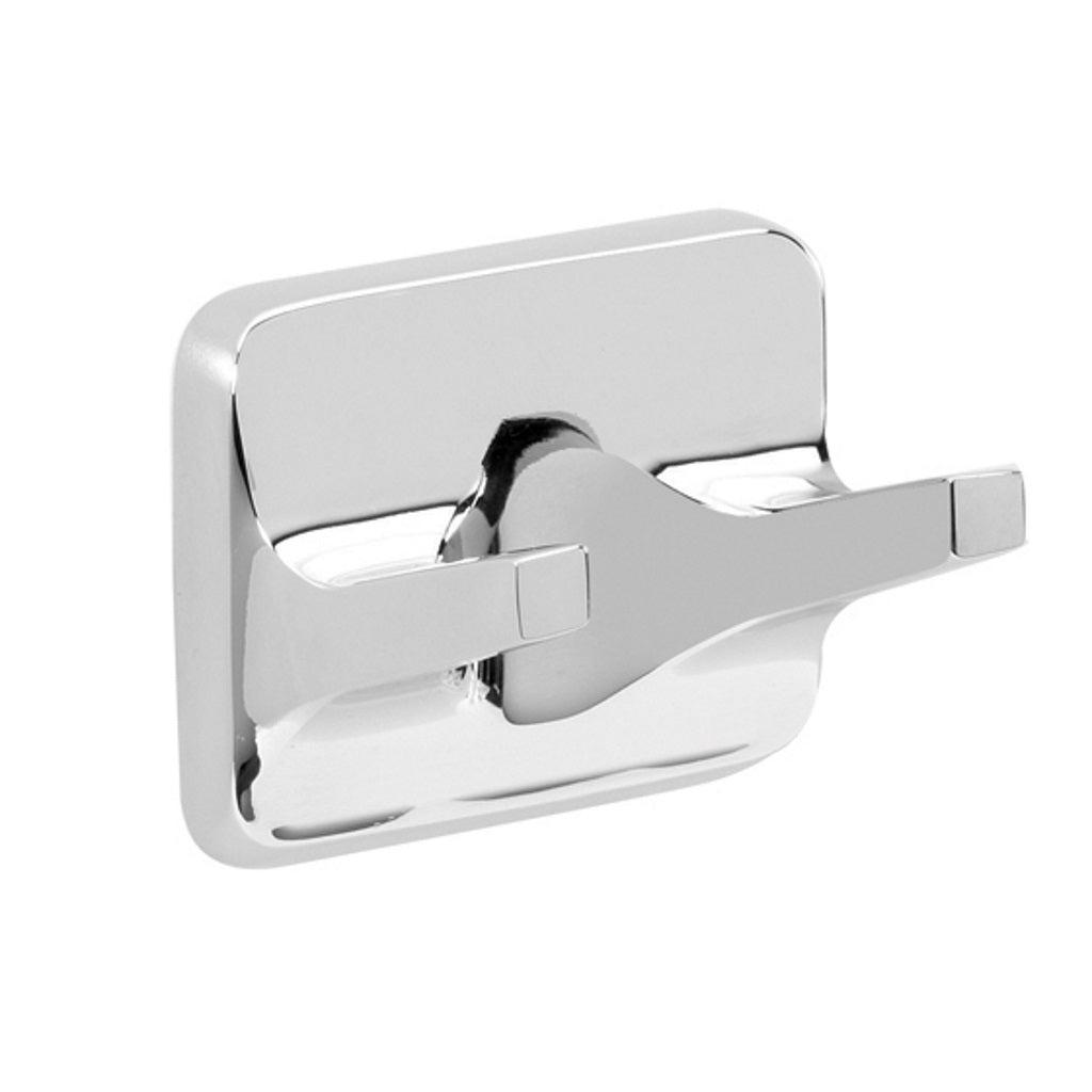 Chromed Wall Double Hook Gedy Etna