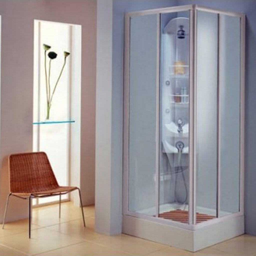 68-80 Shower Enclosure 2 Sliding Doors Titan Bagno XA