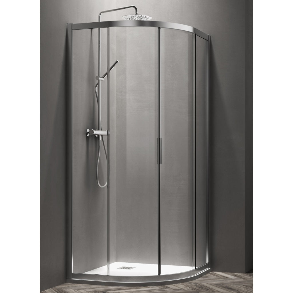 Round Shower Enclosure 2 Sliding Doors Arblu Vega