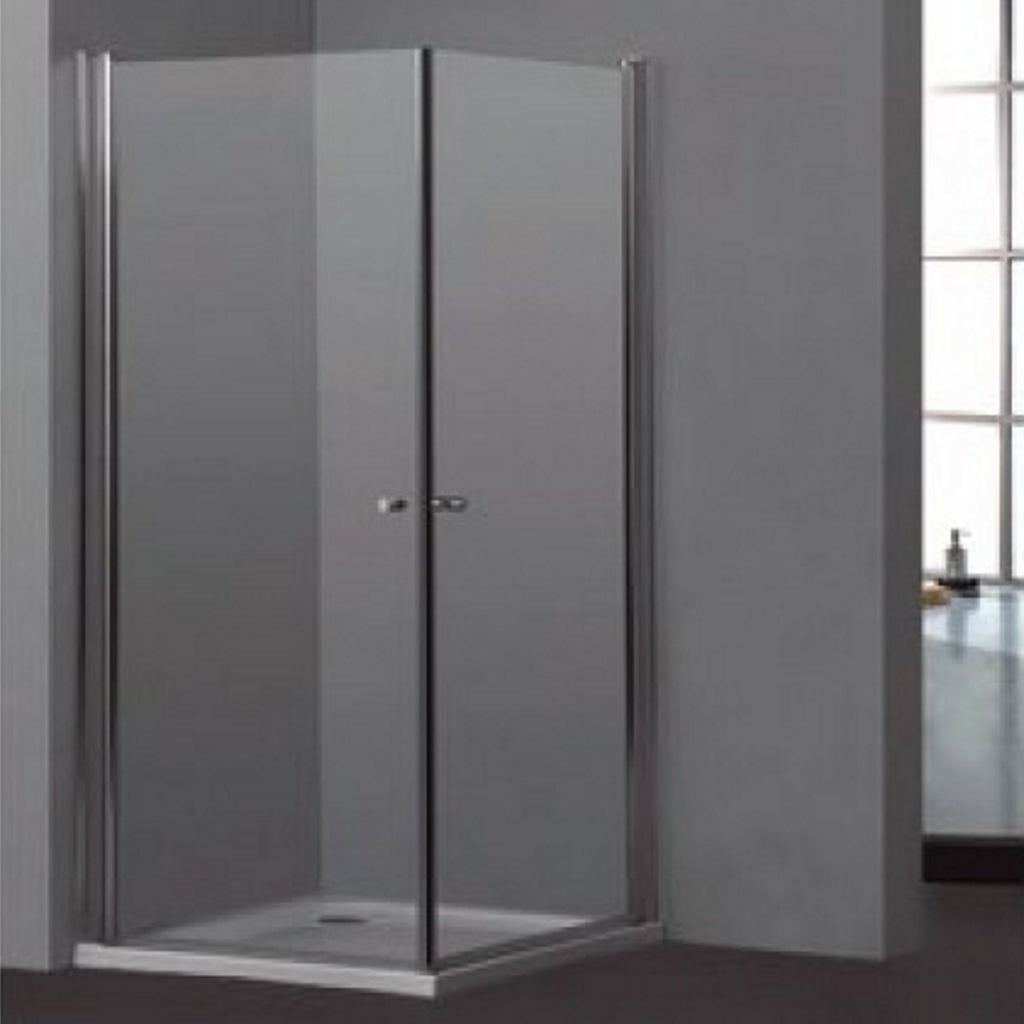 Round 90 cm Shower Enclosure 2 Sliding Doors Titan Kendo
