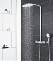 RAINSHOWER SYSTEM SMARTCONTROL DUO 360 SHOWER SYSTEM WITH THERMOSTATIC MIXER