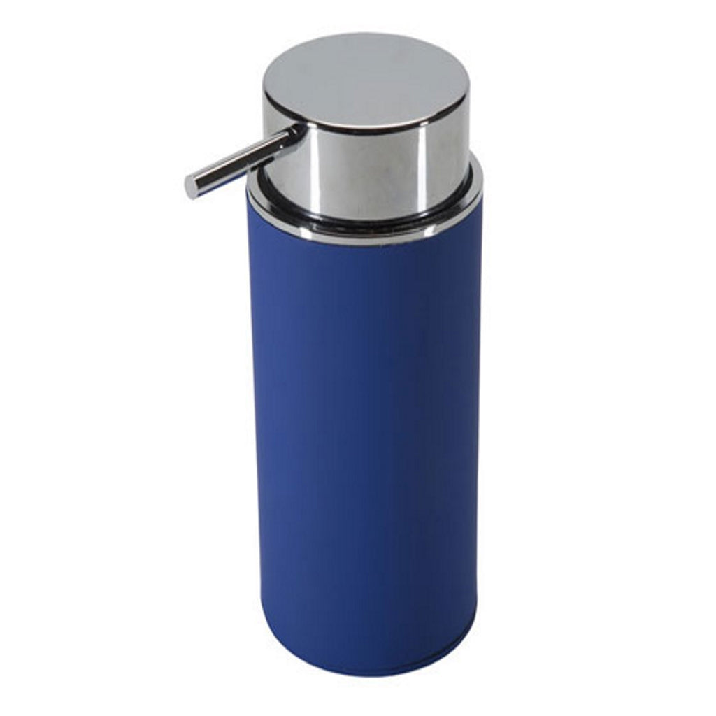 Blue Soap Dispenser Holder Gedy Luna