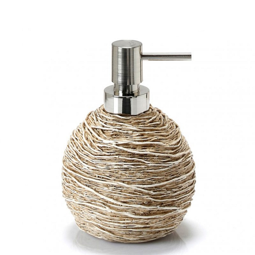 Beige Soap Dispenser Holder Gedy Idra