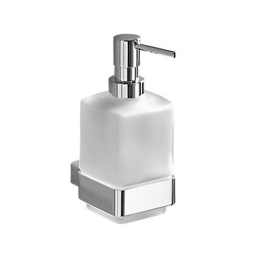 Wall Chromed Glass Soap Holder Gedy Lounge