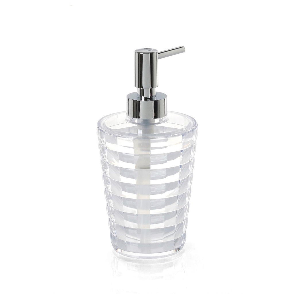 Transparent Soap Dispenser Holder Gedy Glady