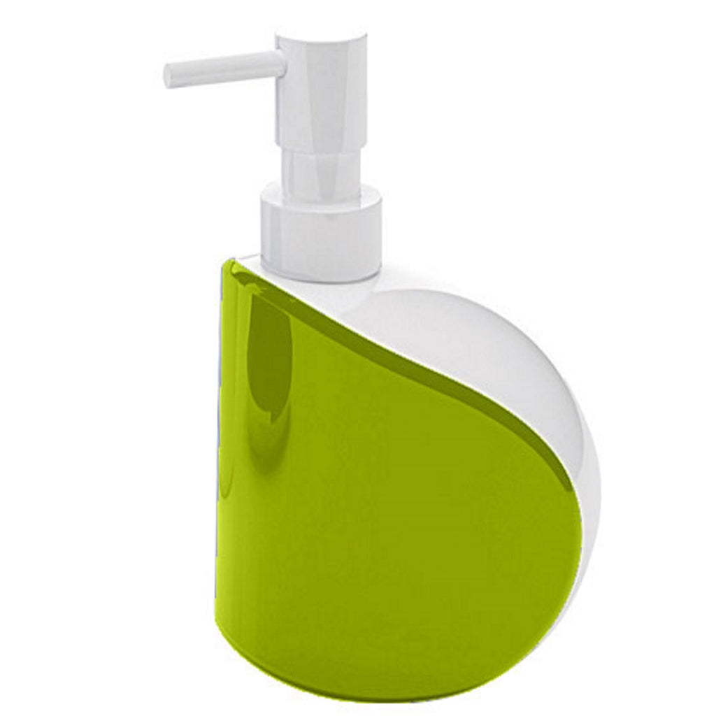 Green Soap Dispenser Holder Gedy Moby