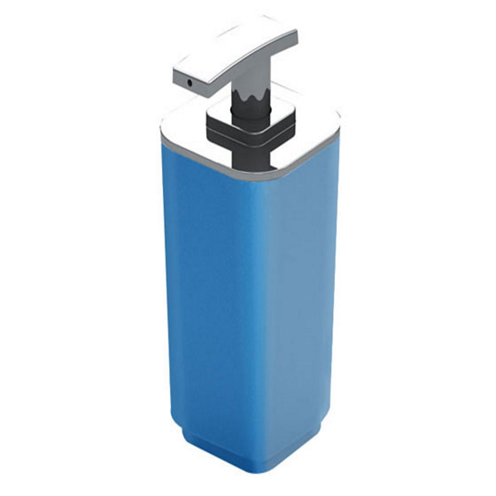 Blue Soap Dispenser Holder Gedy Seventy