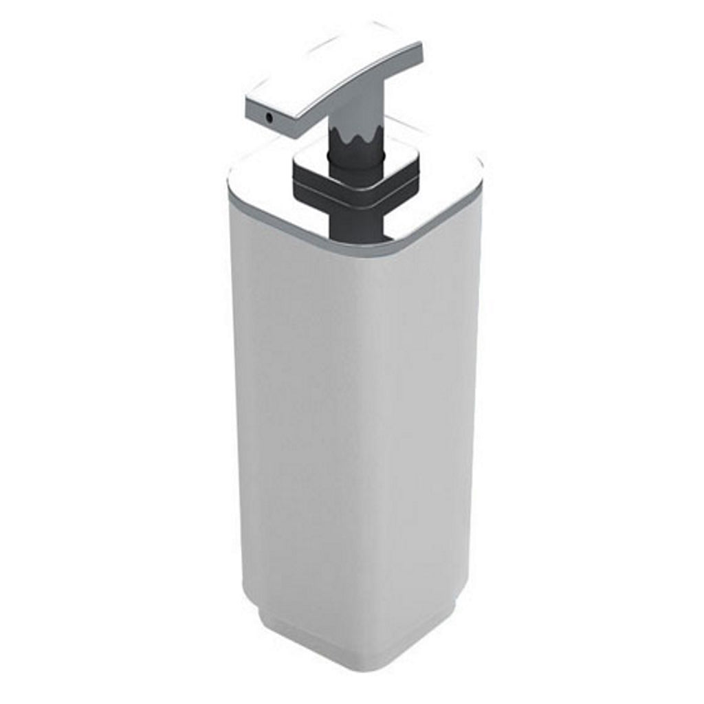 White Soap Dispenser Holder Gedy Seventy