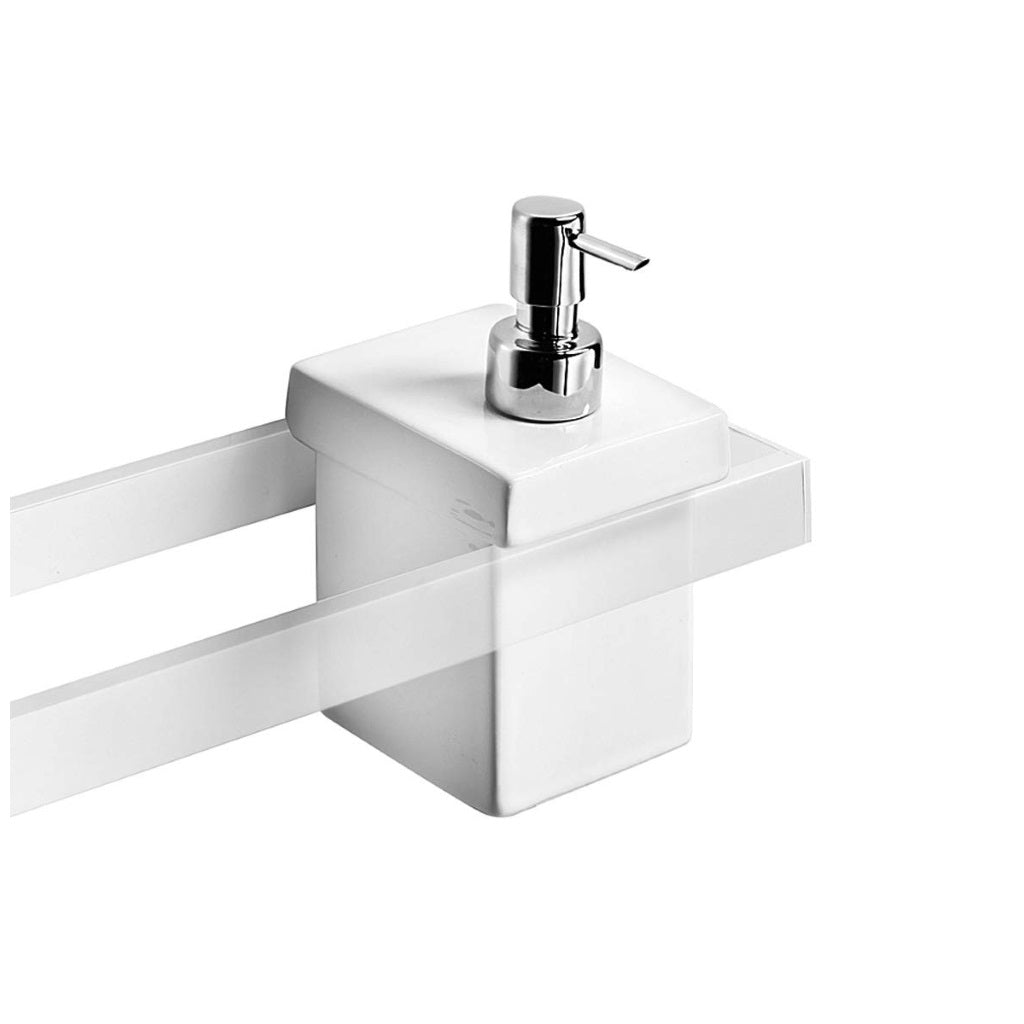 Bathroom Wall Ceramic Soap Dispenser Lineabeta Skuara
