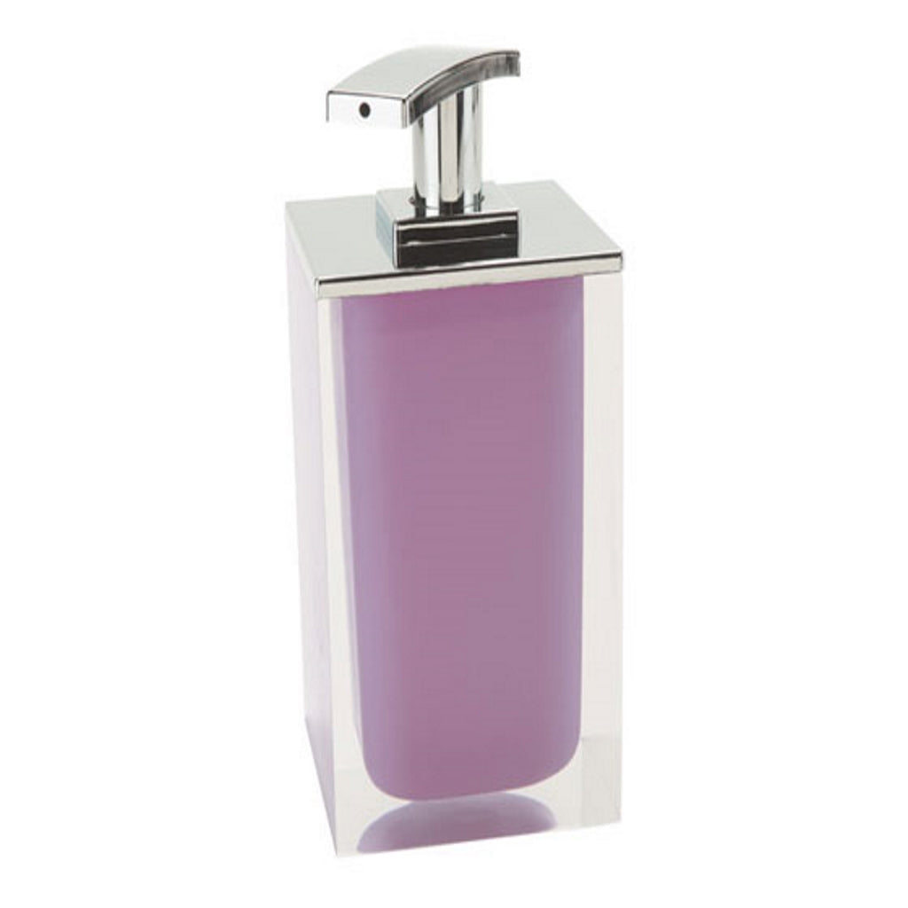 Lilac Soap Dispenser Holder Gedy Rainbow