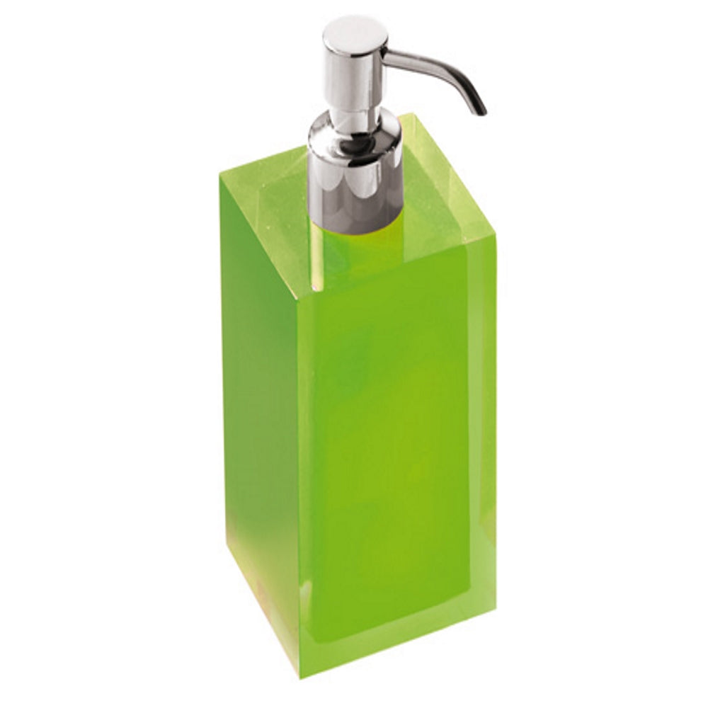 Green Soap Dispenser Holder Gedy Rainbow