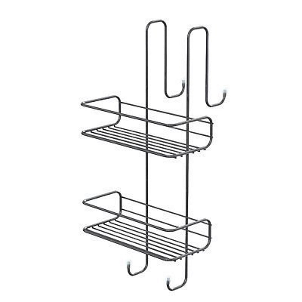 Wire Corner Shelf 2 Basket 2 Shelfs Gedy Shower Caddles
