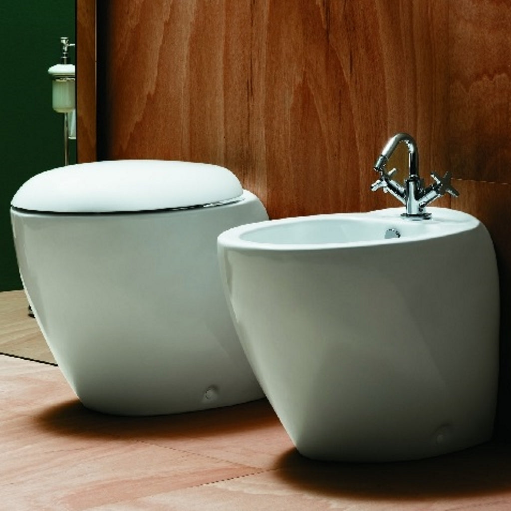 Back to wall WC Sanitary WC Bidet soft-close seat Azzurra Clas
