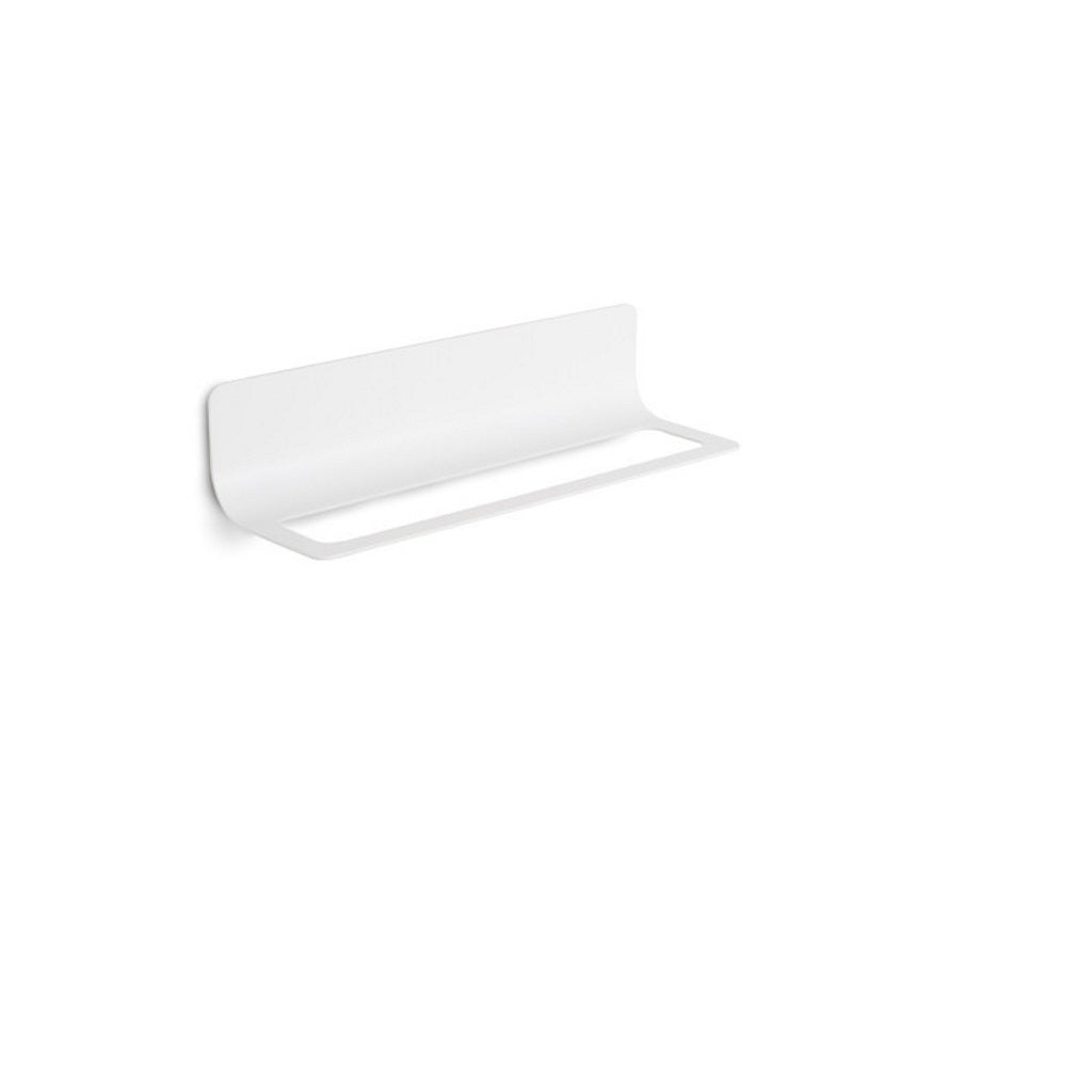 White Wall 45 Towel Holder Lineabeta Curva