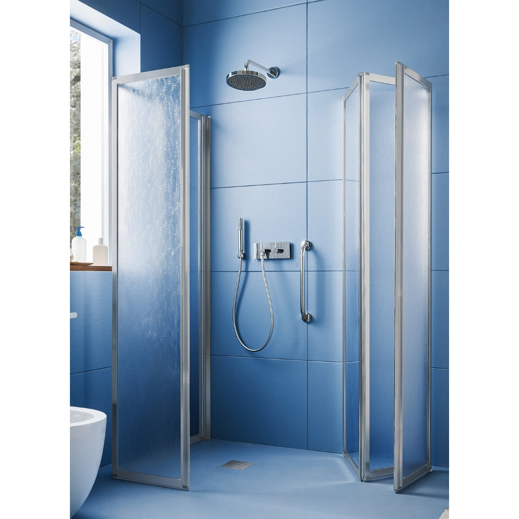 Shower Wall 2 Folding Opening Doors Arblu Time