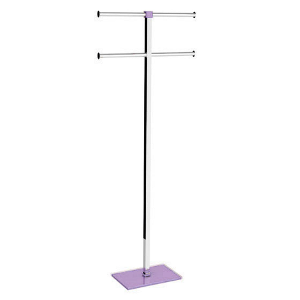 Lilac Towel Stand Gedy Rainbow