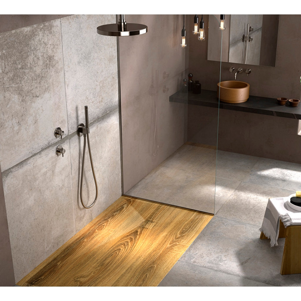 Wood Design Shower Tray Duplach 3D Madera