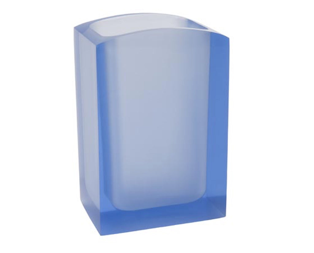 Blue Tooth Brush Holder Gedy Antares
