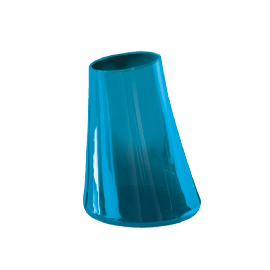 Turquoise Tooth Brush Holder Gedy Flou