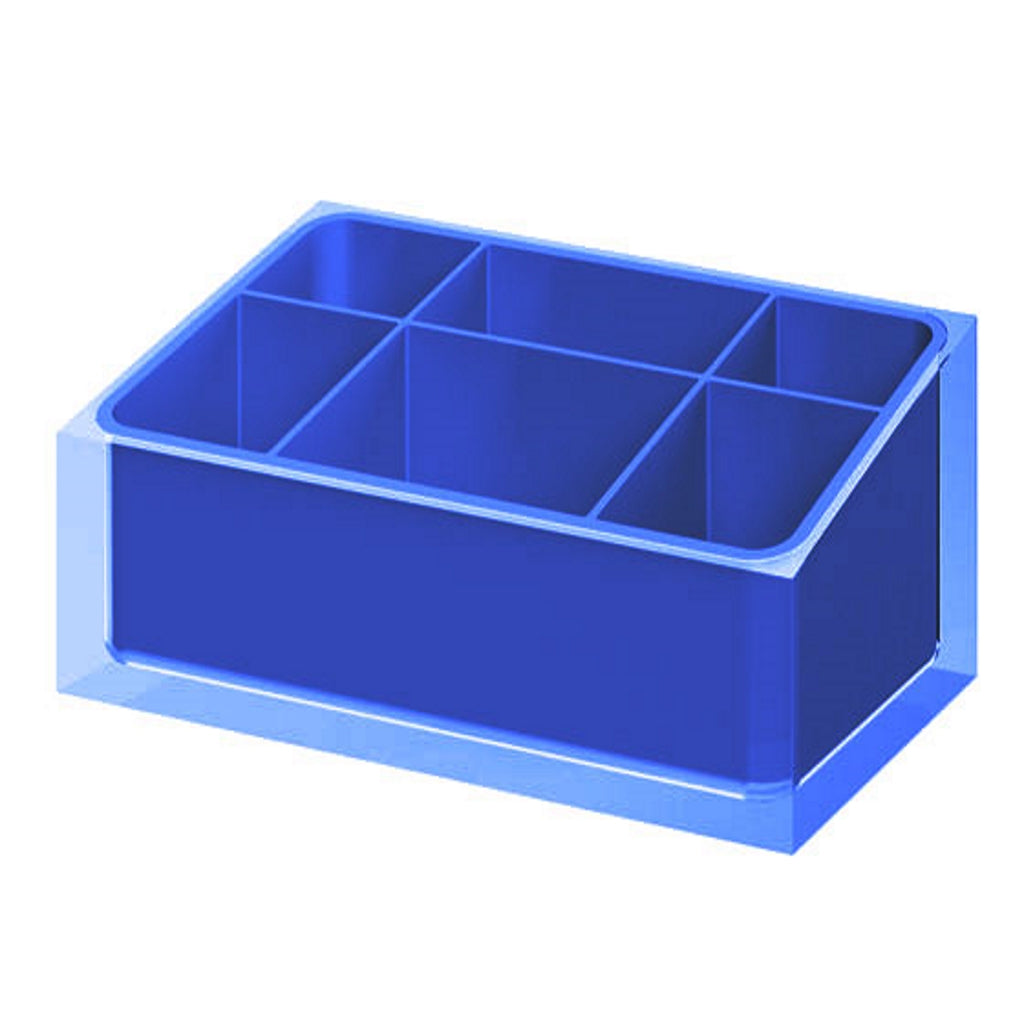 Blue Make Up Tray Gedy Rainbow