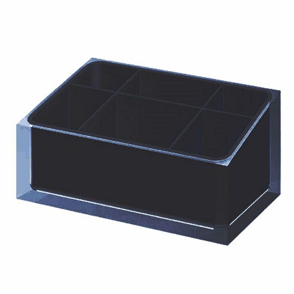 Black MakeUp Tray Gedy Rainbow
