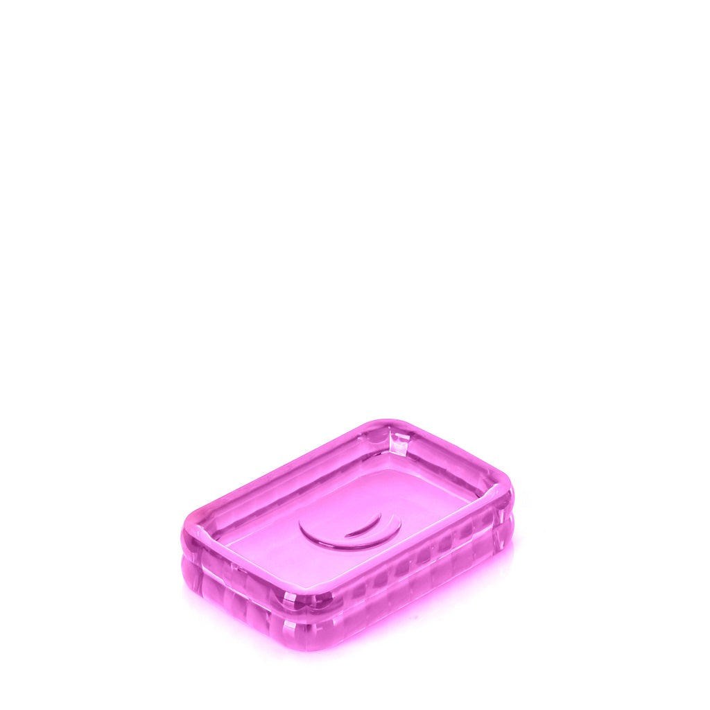 Fucsia Soap Holder Gedy Glady
