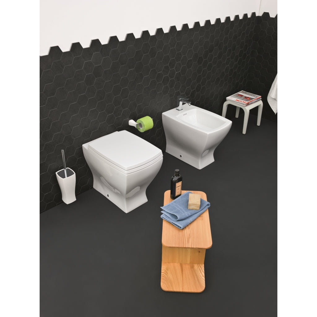 Back to Wall WC Bidet Sanitary Artceram Jazz