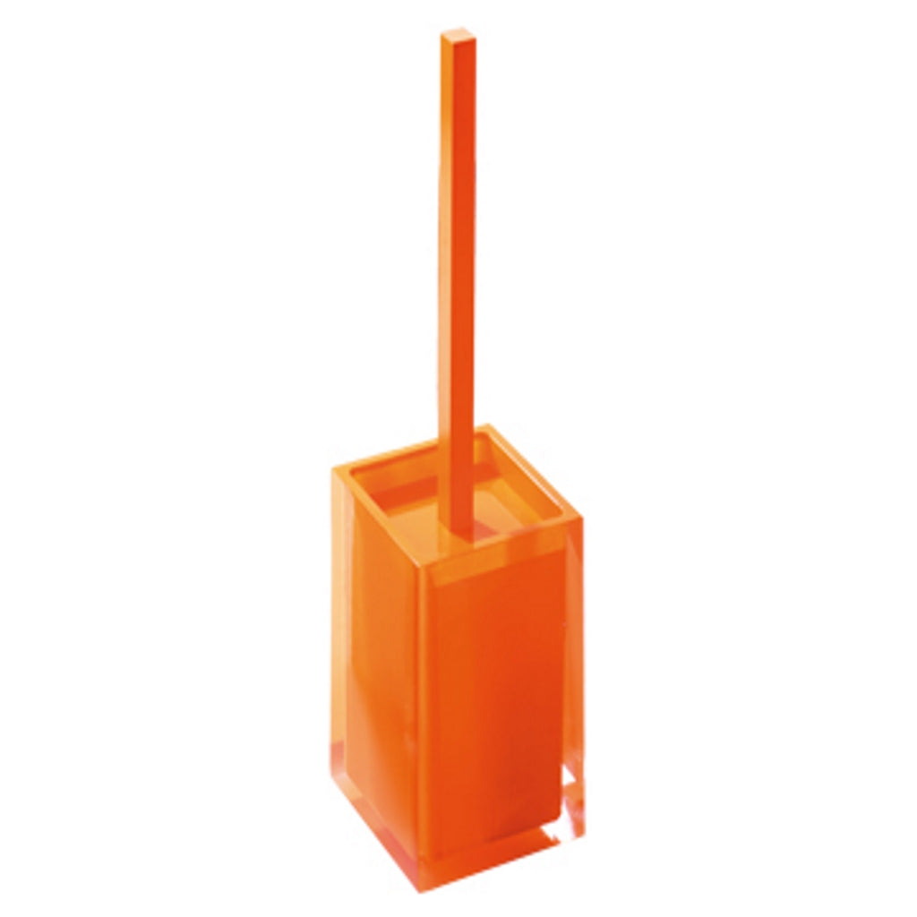 Orange Toilet WC Holder Gedy Rainbow