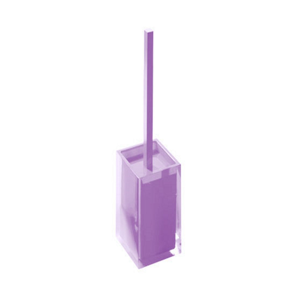 Lilac Toilet WC Brush Holder Gedy Rainbow