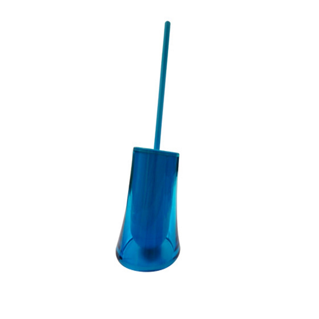Turquoise Toilet WC Brush Holder Gedy Flou