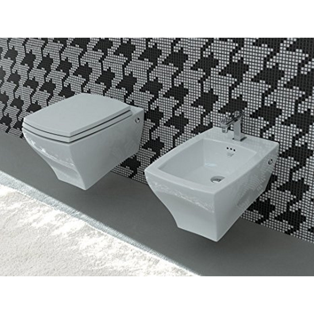 Wall Hung WC Bidet Sanitary ArtCeram Jazz