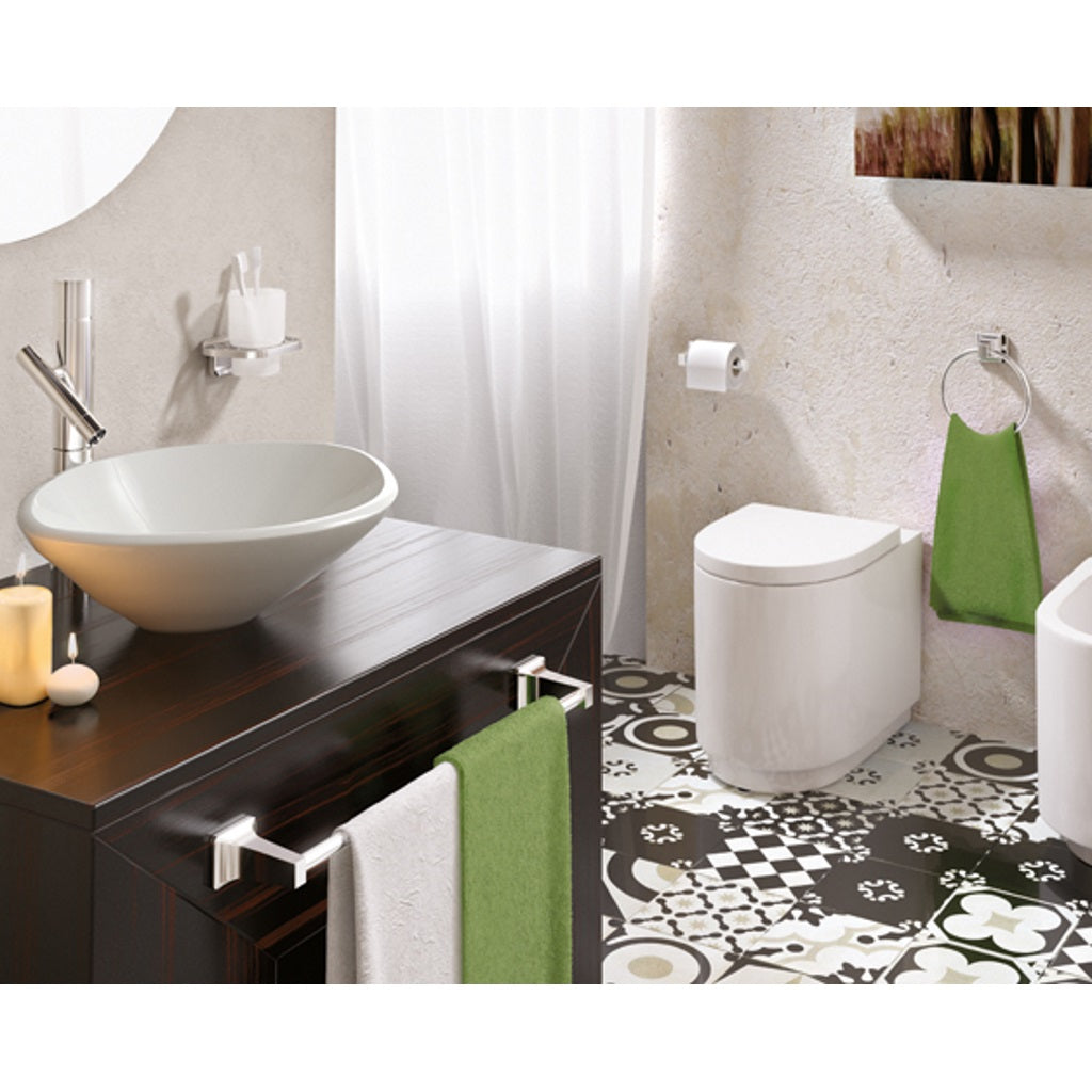 Wall Bathroom Accessories Set Gedy Etna