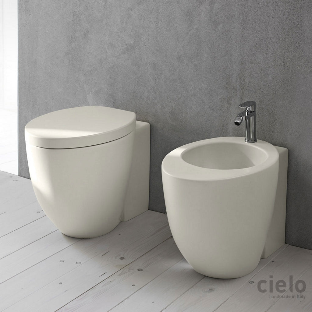 Back to Wall Toilet WC Bidet Cielo Le Giare