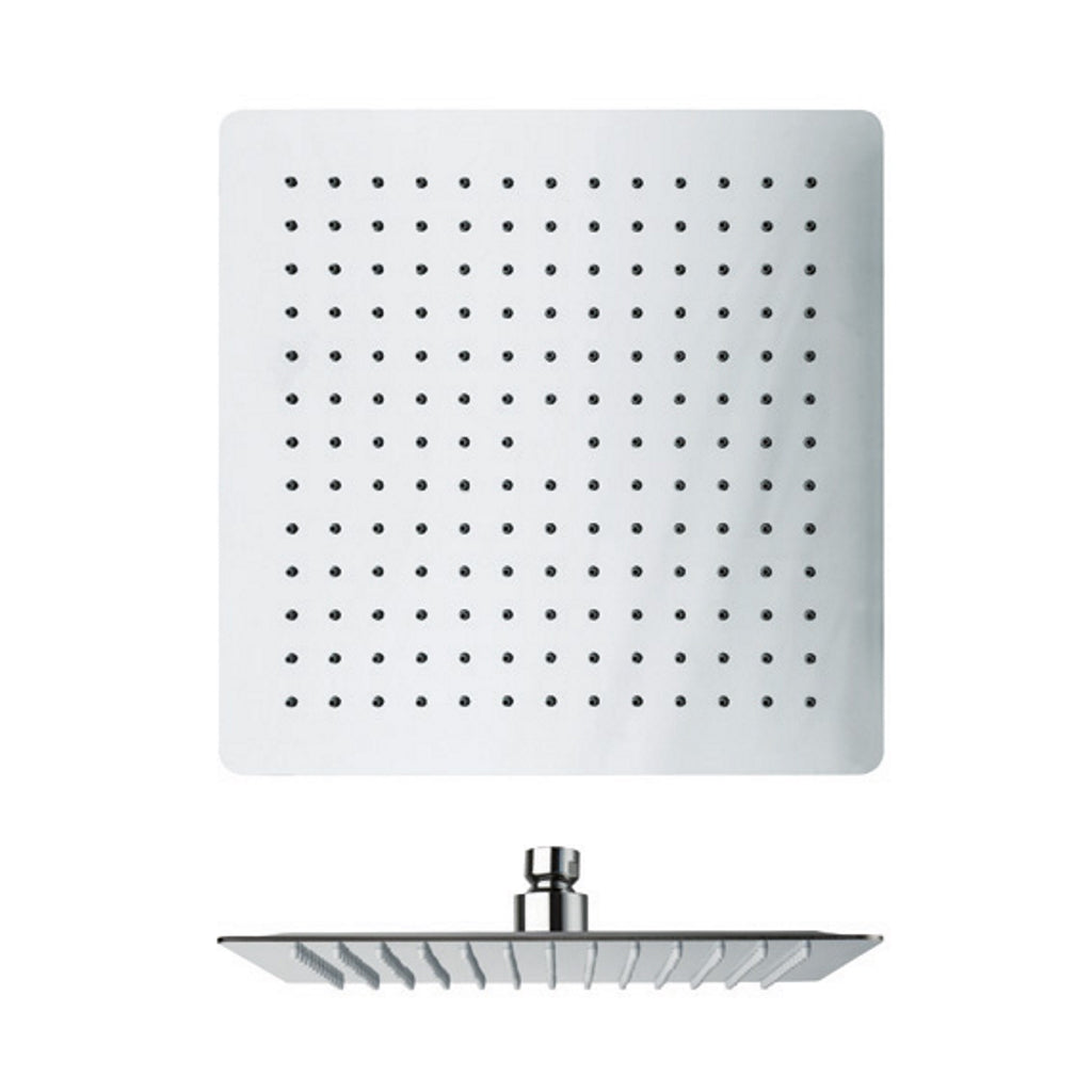 Square 25x25 Shower Head Cristina Sandwich Plus