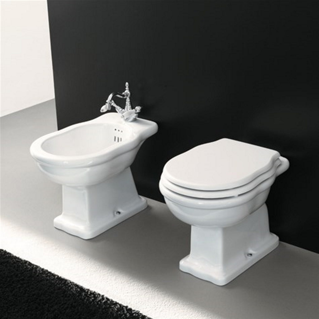 Traditional sanitary WC bidet softclose seat ArtCeram Hermitage