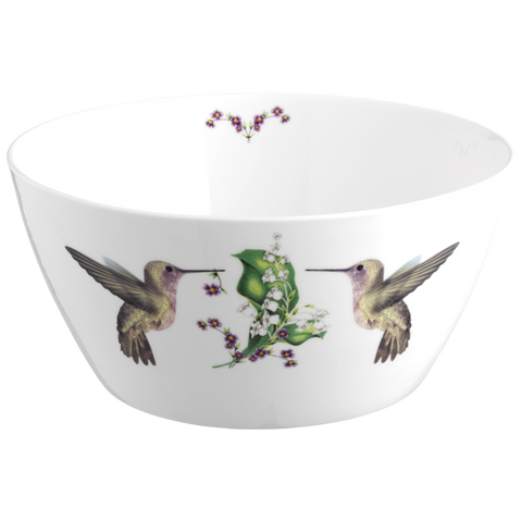 Hummingbird Serving Bowl