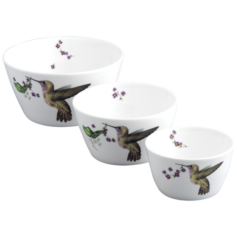 Hummingbird Nesting Bowl Set