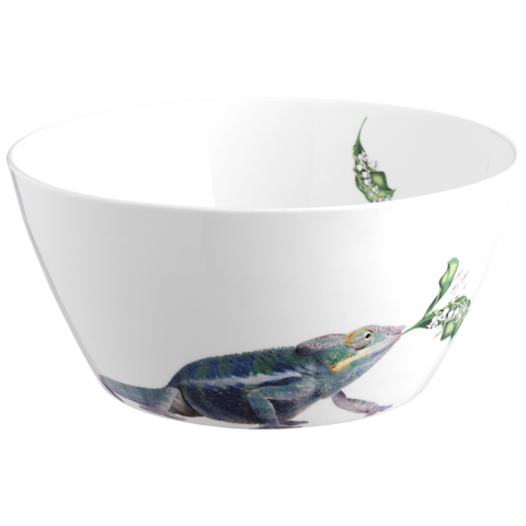 Chameleon Serving Bowl