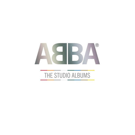 ABBA / The Studio Albums coloured vinyl box set