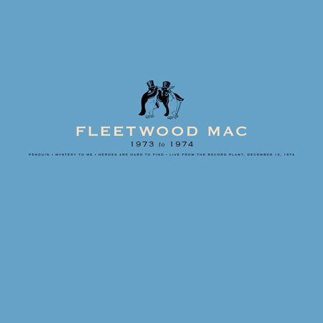 "Fleetwood Mac 1973 to 1974 - 4LP vinyl box + 7"" single"