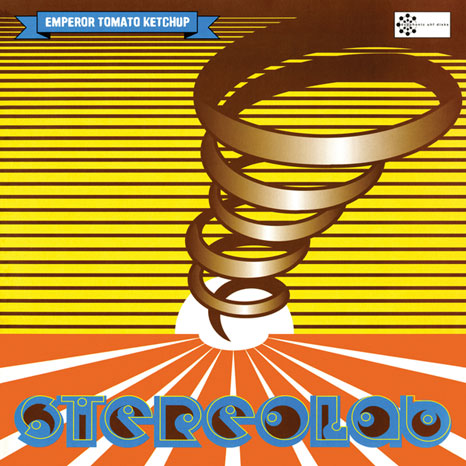 Stereolab / Emperor Tomato Ketchup / 3LP CLEAR vinyl