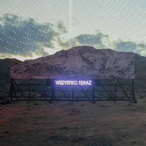 Arcade Fire / Everything Now / Polish language artwork