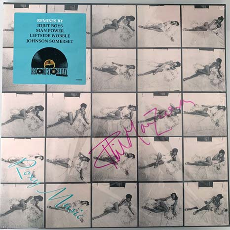"Roxy Music / Debut Album Remixes Limited Edition RSD 2 x 12"" - *SIGNED* by Phil Manzanera"