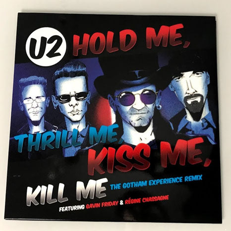 "U2 / Hold Me Thrill Me Kiss Me Kill Me / RSD 12"" vinyl - USA import"