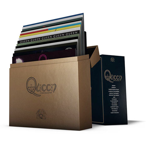 Queen / The Studio Collection 18LP coloured vinyl box set